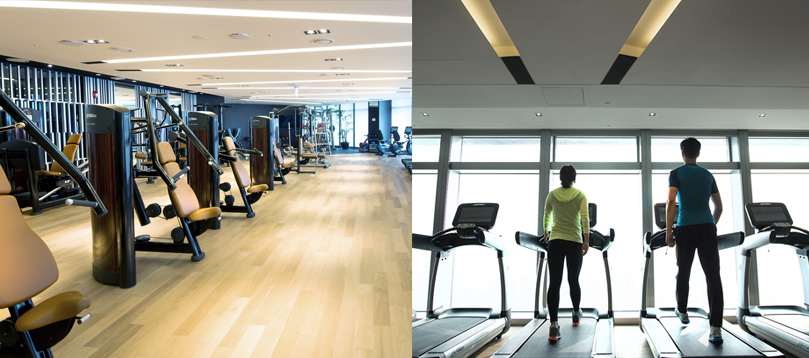 Fitness Center of Oakwood Premier Incheon